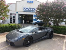 2008 Lamborghini Superleggera Gallardo Window Tint for Plano Customer