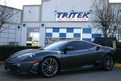 2009 Gray Scuderia Ferrari Window Tint for a Plano Customer