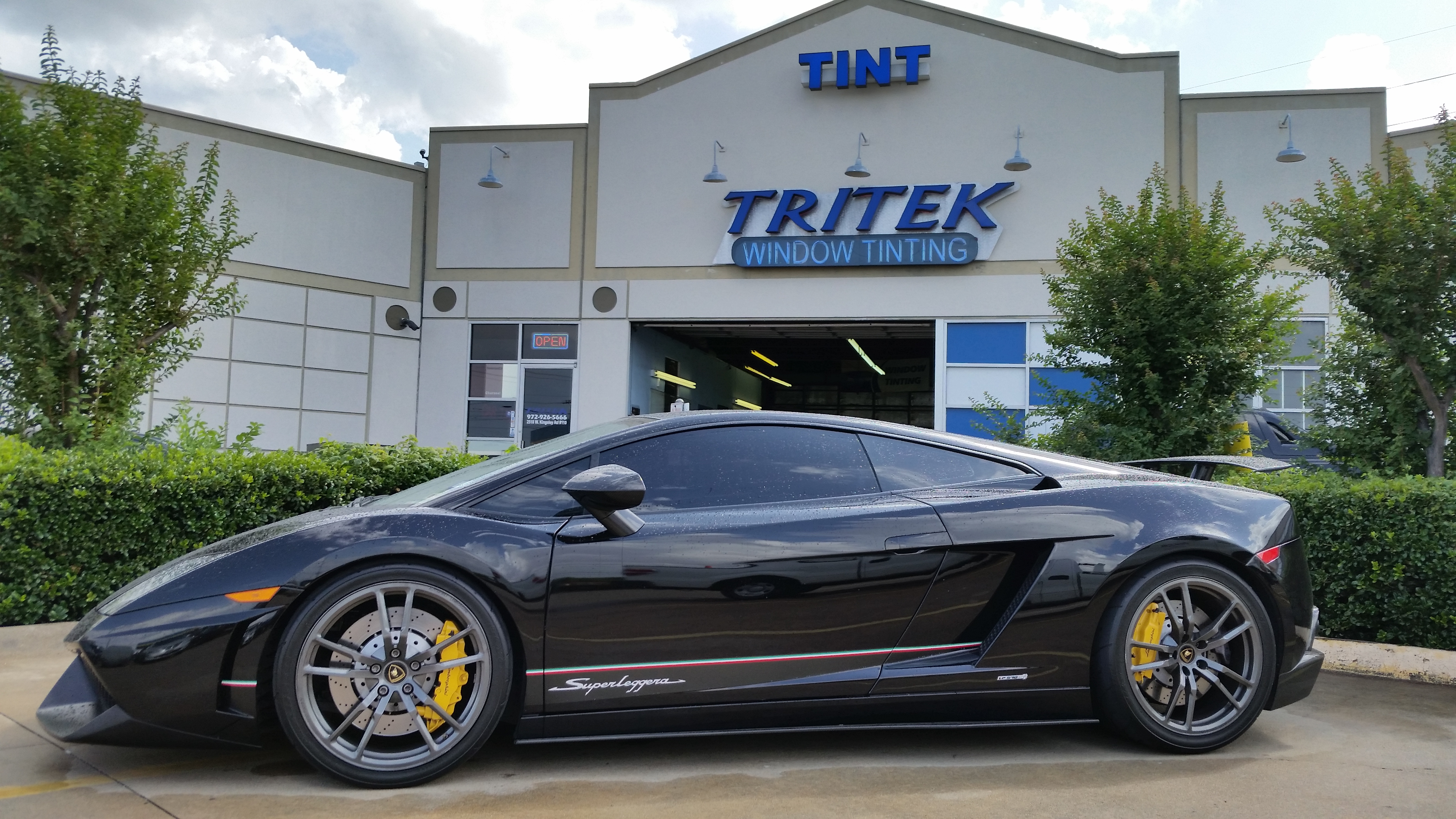 World Class Tinting Products & Tritek Window Tinting Dallas #1 Source for Premium Tint
