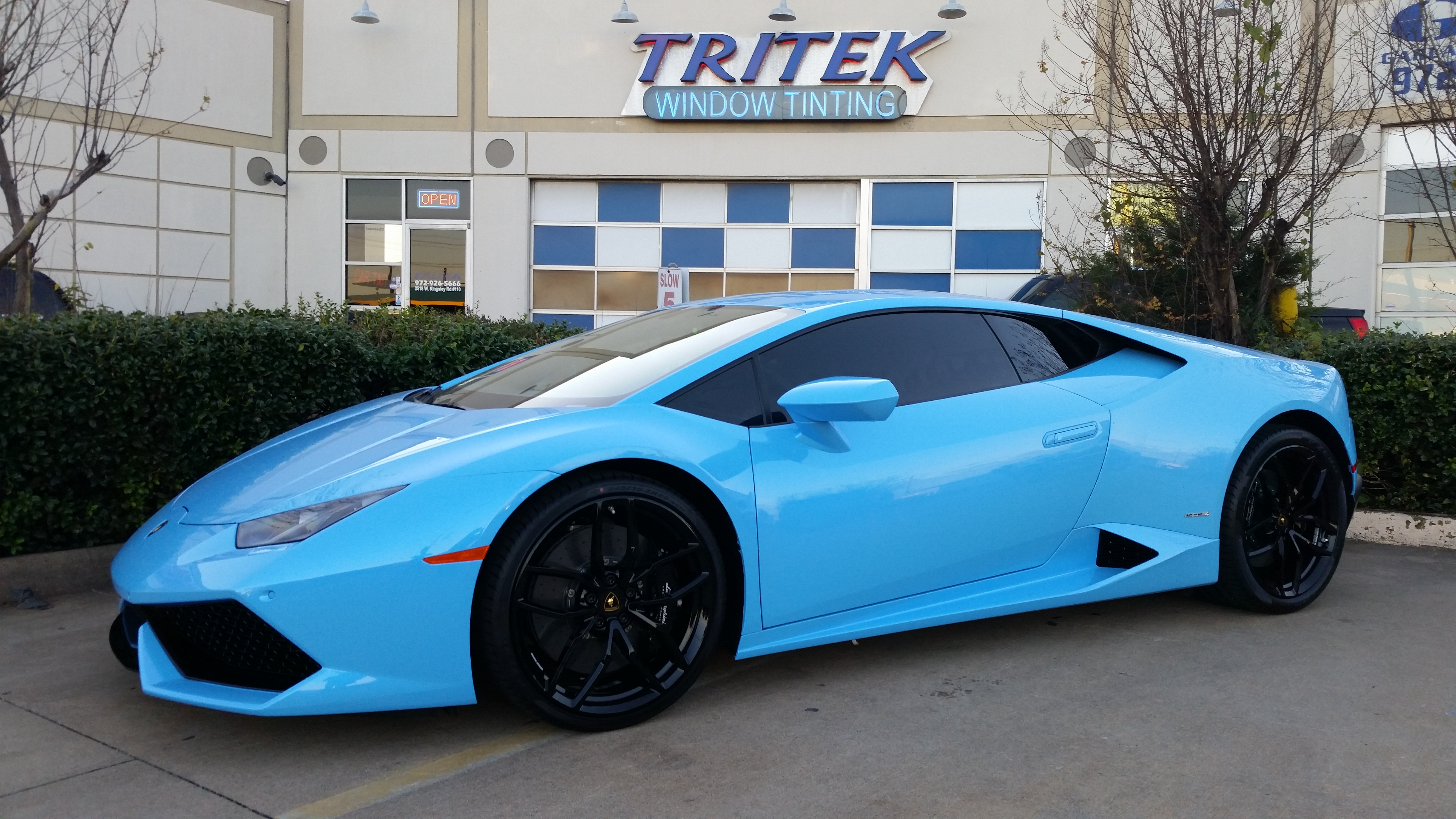 Exotic Car Window Tint Gallery Tritek Window Tinting